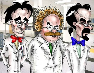 Вчені - люди різні